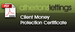 Client Money Protection Certificat